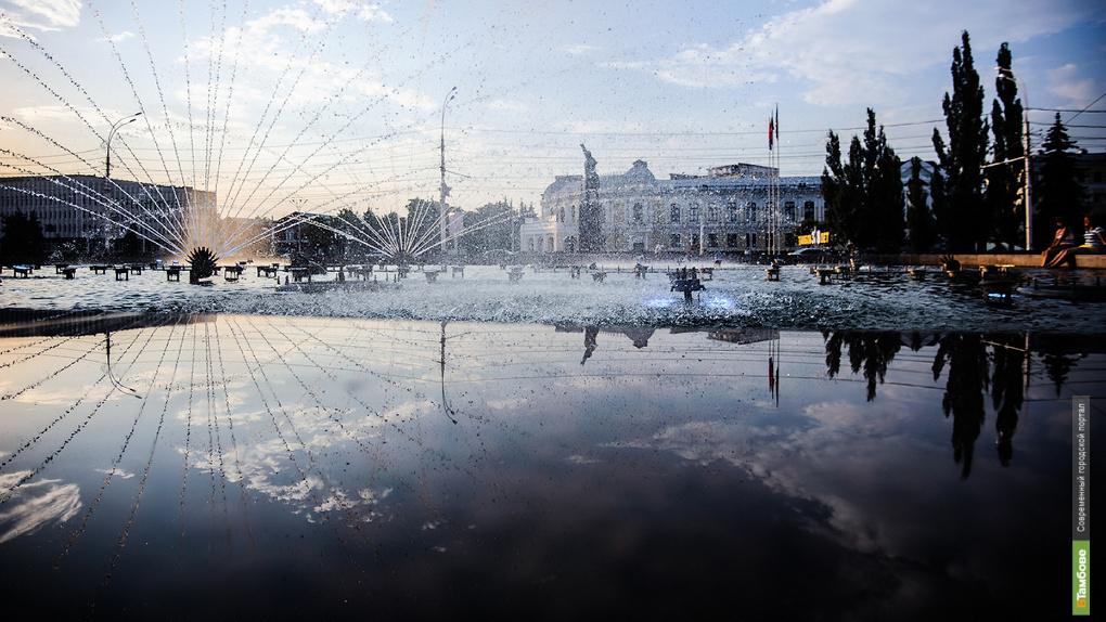 Сегодня в Тамбове открылся сезон фонтанов (0+)