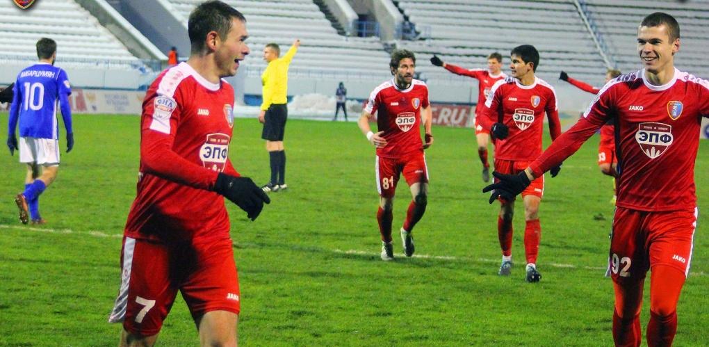 Первый этап первенства ФНЛ тамбовские футболисты завершили победой