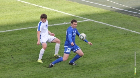 «Академия футбола» сыграла вничью с елецкими футболистами