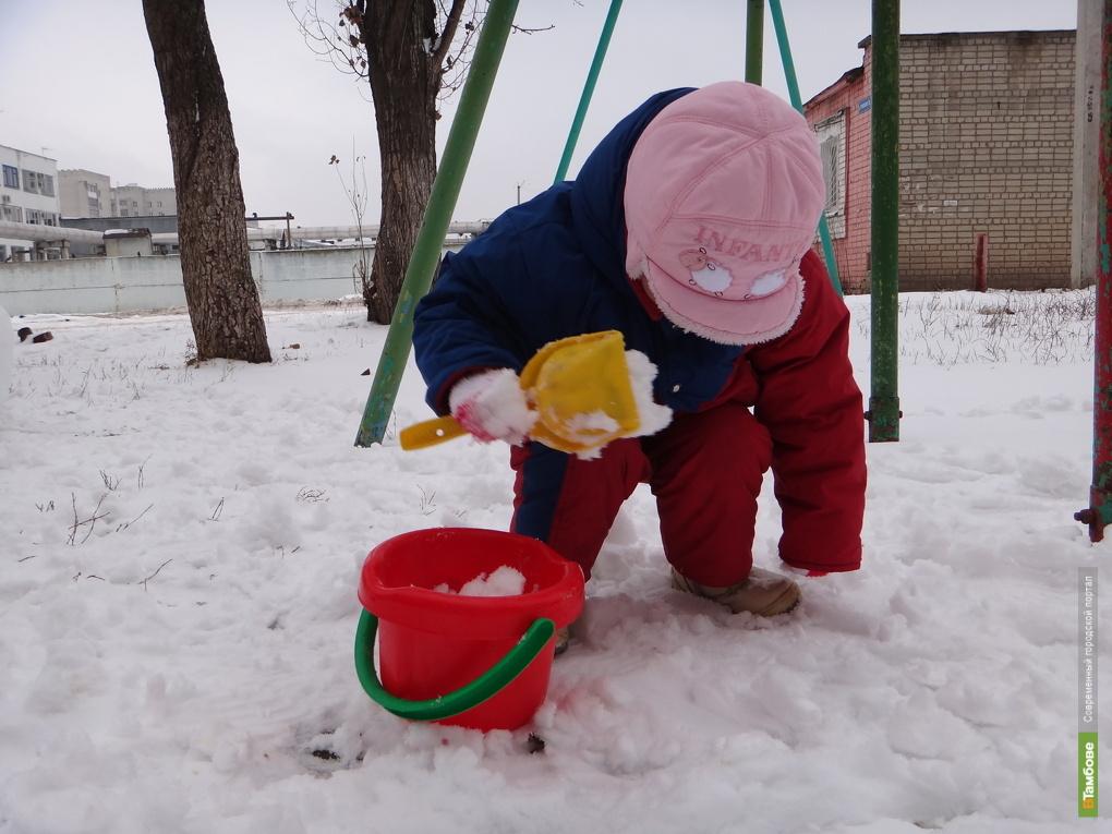 Аномальные холода задержатся в Тамбове