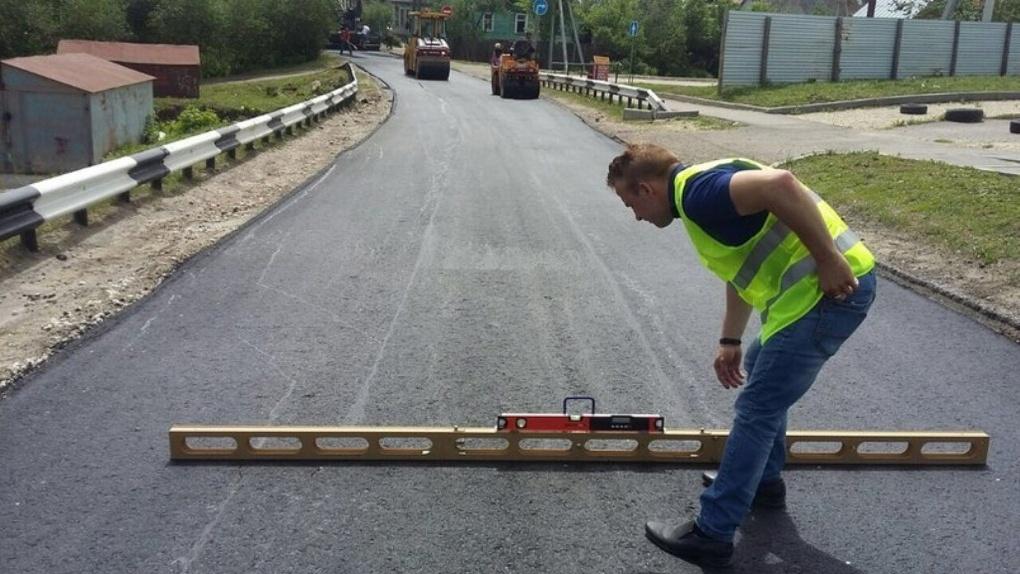 Ремонт закончится в июне: в Тамбове дорожники взялись за проезд Марины Расковой
