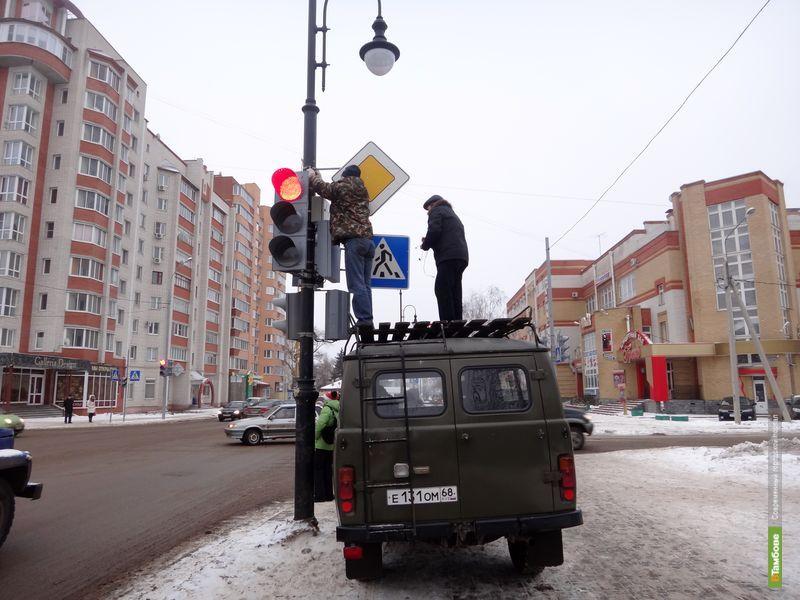 На дорогах Тамбова станет больше видеокамер