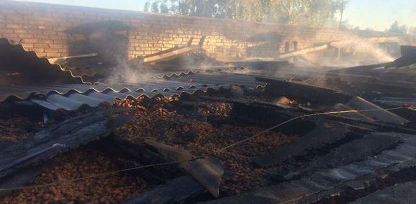 Во время тушения пожара в бане Моршанска погиб сотрудник МЧС