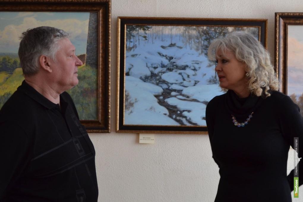 Тамбовчане увидят пейзажи Николая Насонова