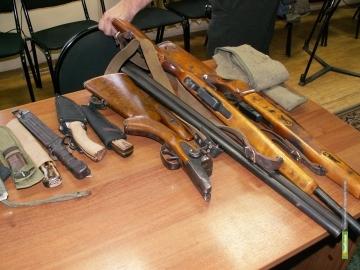 10 тамбовчан умудрились потерять табельное и личное оружие