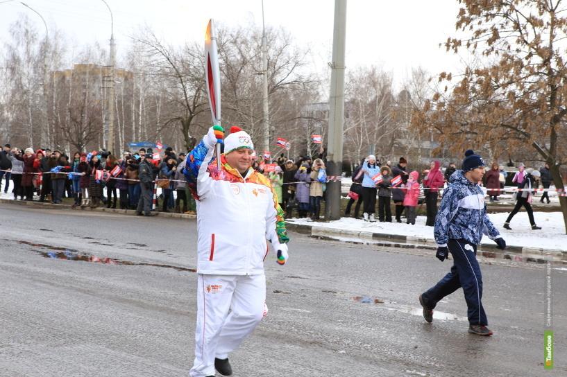 Олимпийский факел стал экспонатом рассказовского музея