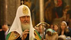 Патриарх Кирилл помолится за успешное правление Путина