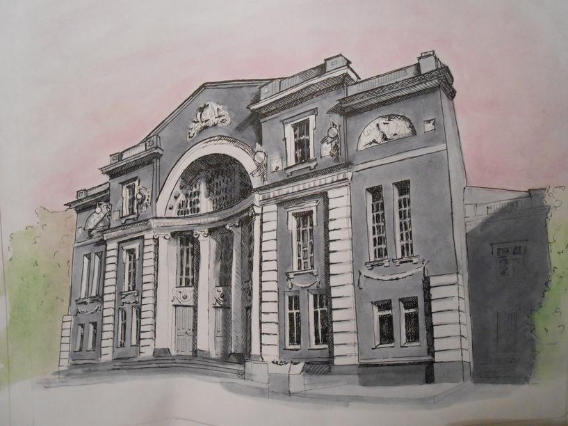 Тамбовские студенты-архитекторы показывают «Живые зарисовки»