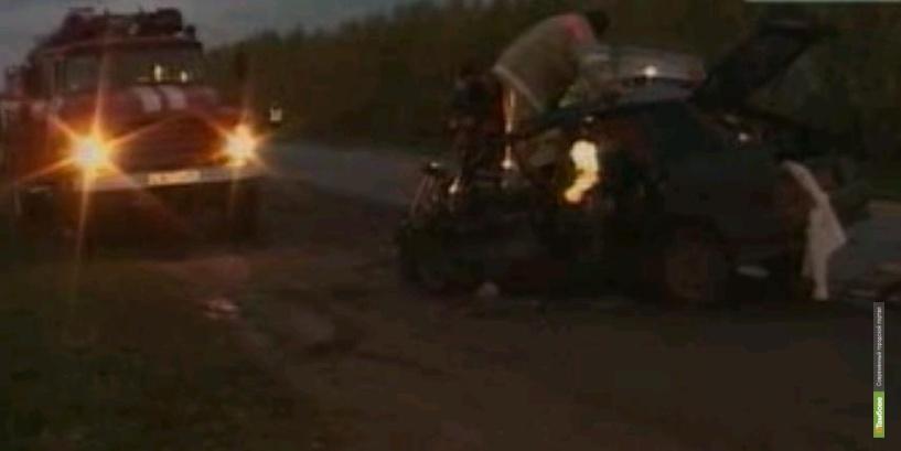 На тамбовской трассе погибли два человека