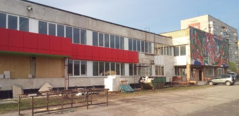 Здание автовокзала «Тамбов» начали ремонтировать