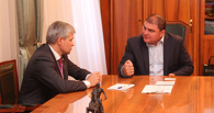 Председатель Сбербанка встретился с губернатором Орла