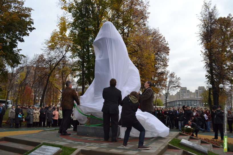 В Тамбове увековечили имя Евгения Боратынского