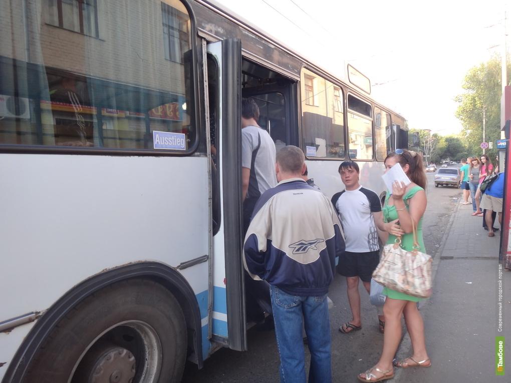 С тамбовского автобуса за вредные выбросы сняли номера