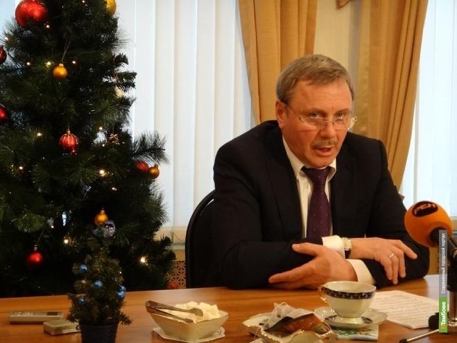 Александр Бобров поздравит тамбовчан с Новым годом дважды