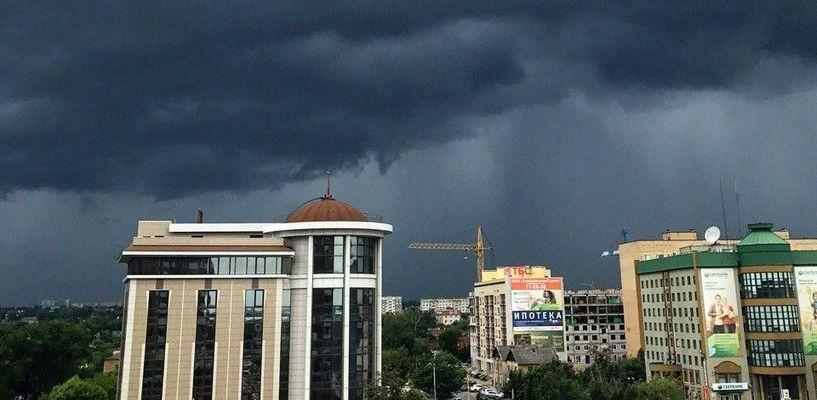 Синоптики прогнозируют дождливую неделю