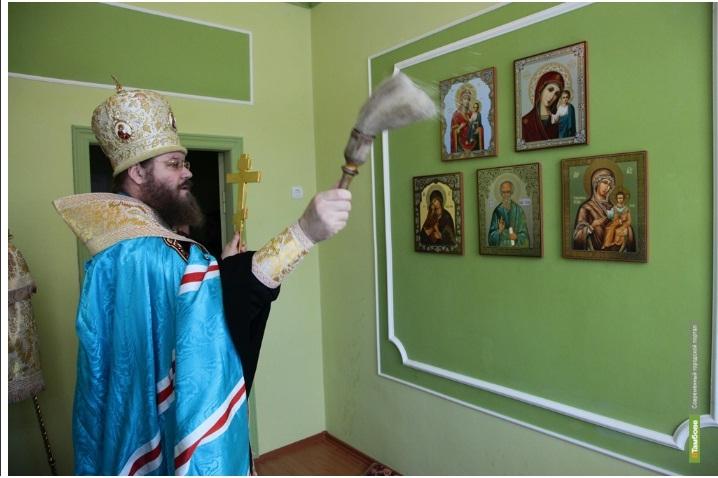 В школе Притамбовья появилась молельная комната