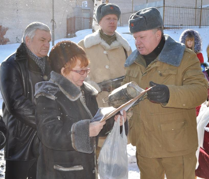 В области состоялась церемония захоронения останков советского солдата