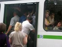 В Астрахани общественный транспорт встал в знак протеста