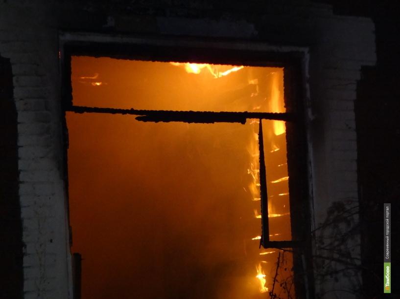 В Тамбове сгорела автомойка