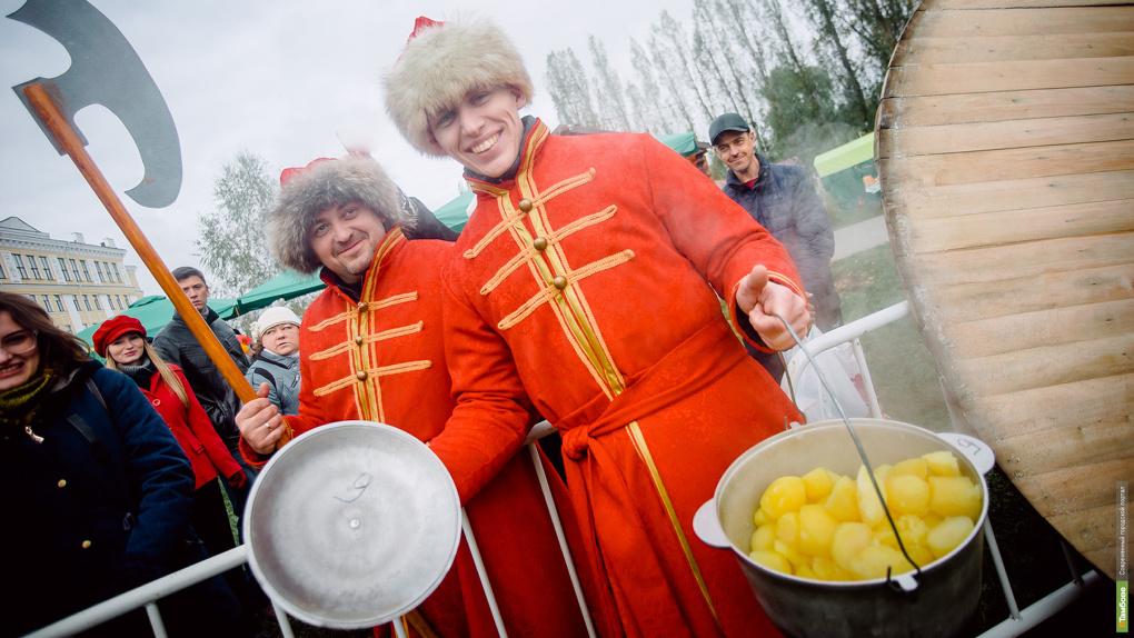 Фестиваль «Тамбовская картошка» вошел в тройку самых интересных гастрономических событий осени