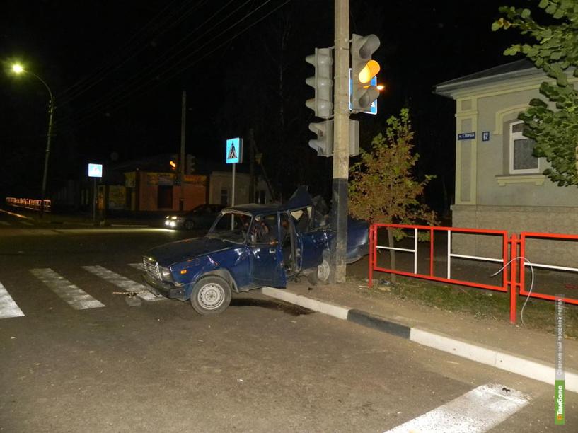 За неделю в ДТП пострадали 62 тамбовчанина
