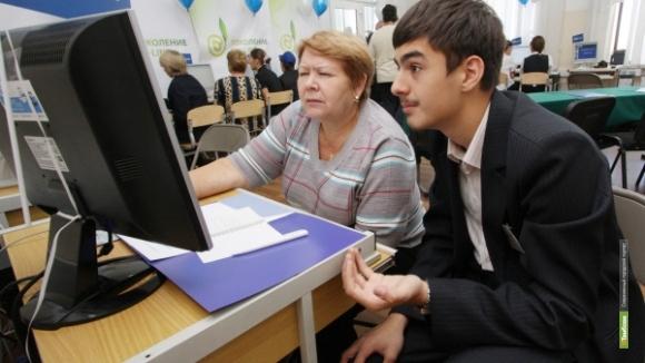 Молодые тамбовчане помогают пенсионерам освоиться в интернете