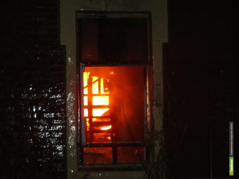 Мичуринские полицейские задержали подозреваемого в поджоге