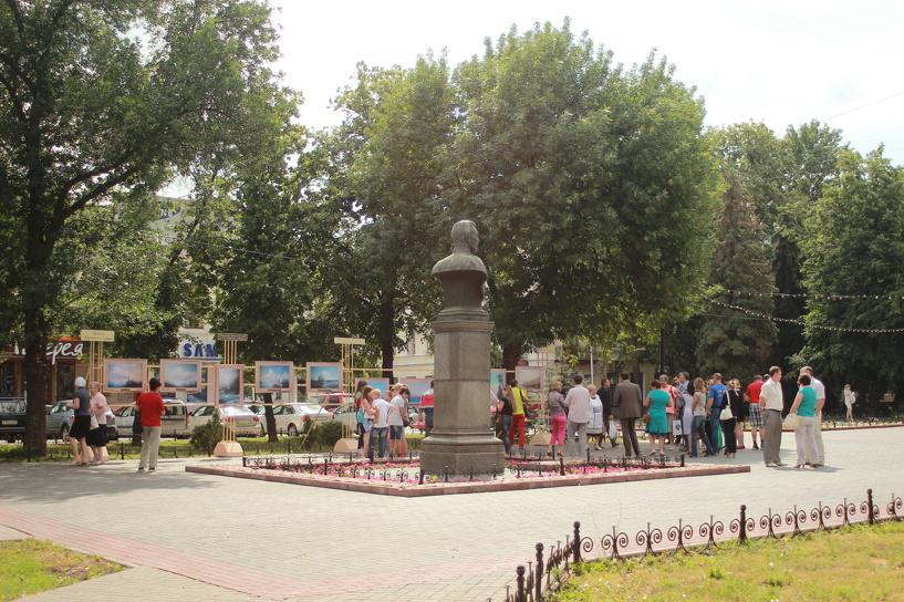 Тамбовчане смогут полюбоваться картинами Айвазовского прямо под открытым небом