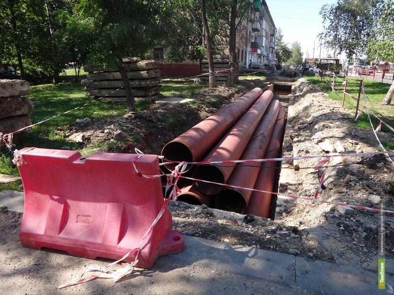 Горячую воду жителям домов на Мичуринской дадут не раньше сентября