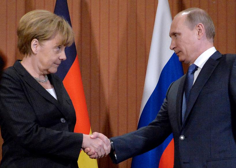 Меркель назвала Путину условия новой встречи «нормандской четверки»