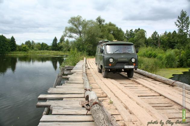 В Тамбовском Тихом Углу деревянный мост заменят на каменный