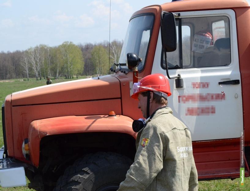 В Жердевском районе при пожаре погиб пенсионер