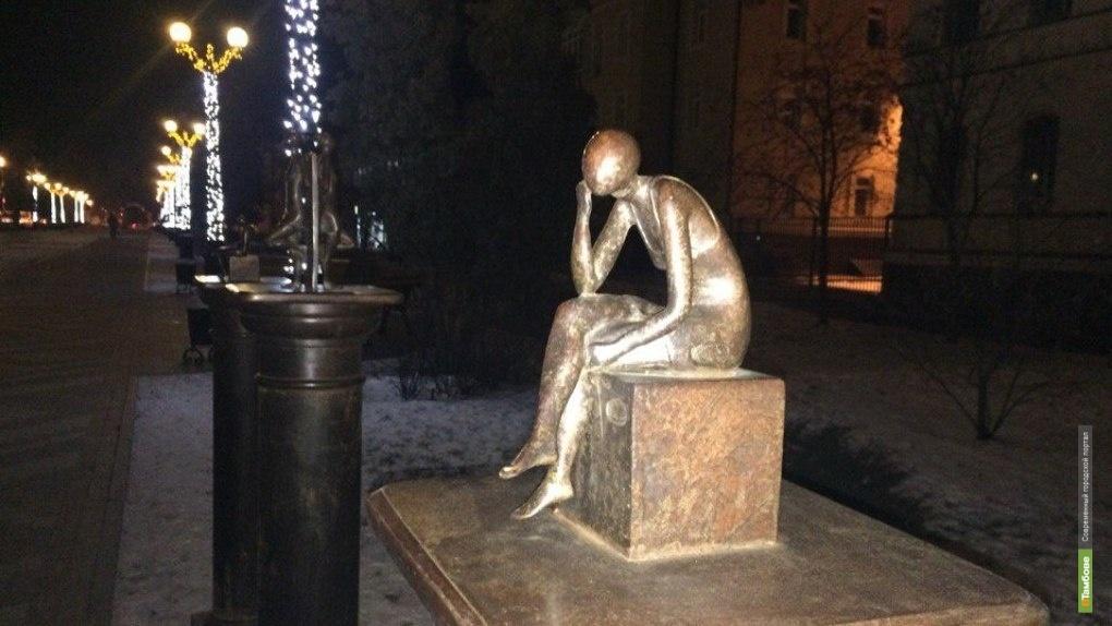 Приезжий скульптор подарил Тамбову новый арт-объект