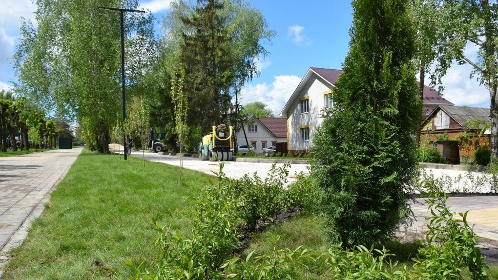 В этом году в Тамбовской области благоустроили 44 двора и 10 общественных территорий