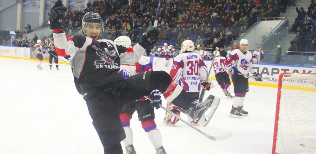 ХК «Тамбов» обыграл «Алтай» в первой домашней встрече