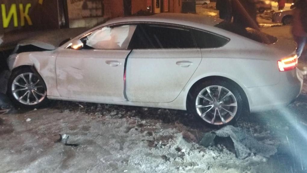 В Рассказово столкнулись два авто: есть пострадавшие