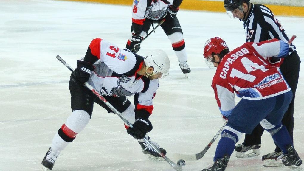 Разгром за разгром: ХК «Тамбов» провёл вторую игру полуфинала плей-офф