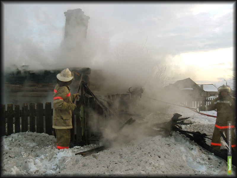 В Тамбове два человека пострадали на пожарах