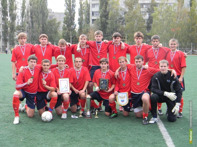 Тамбовчан признали лучшими футболистами в Черноземье