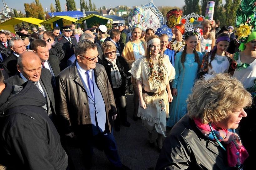 Покровская ярмарка в областном центре Тамбовщины уже открылась