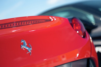 Гоняем на Ferrari California по крыше