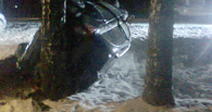 В селе Бондари перевернулась легковушка