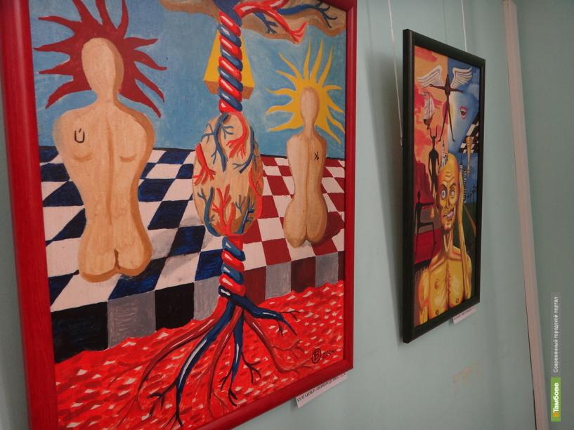 В Тамбове открылась выставка картин душевнобольных