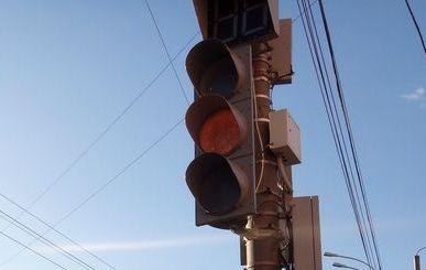 В Тамбове заработал еще один светофор