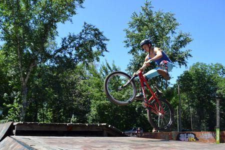 ВТамбове завершился фестиваль велоэкстрима