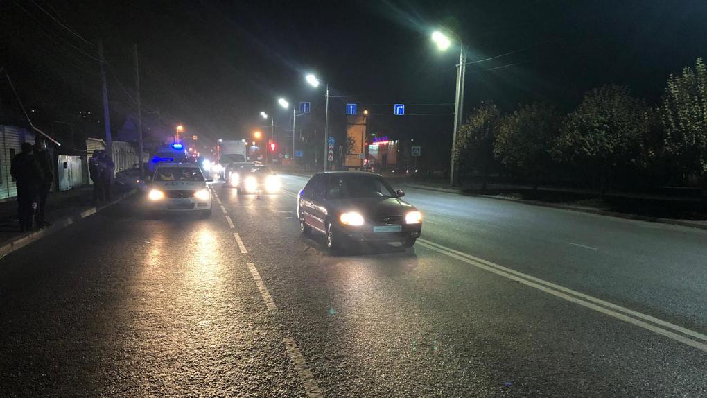 В Тамбове на Пролетарской улице Hyundai сбил пешехода