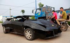 Китаец собрал точную копию Lamborghini