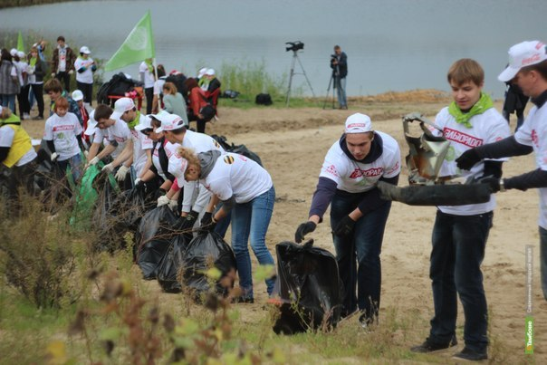 Подведены итоги субботника и готовы ролики с акции «Блогеры против мусора»