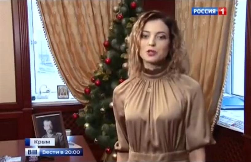 «Пусть будут все счастливы»: Няш-мяш Поклонская поздравила россиян с Новым годом