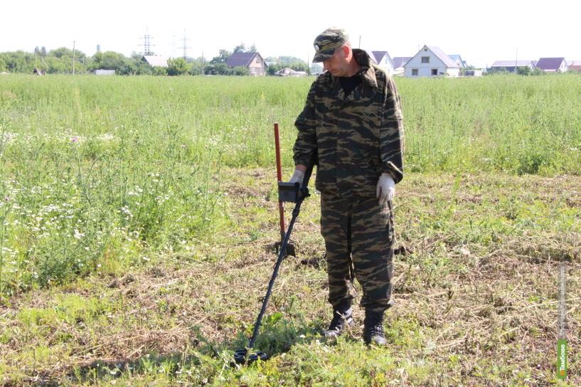 Тамбовские омоновцы ищут снаряды времён гражданской войны